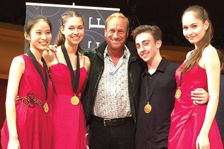 Incendium Quartet Won Gold in the 2015 Fischoff Competition
